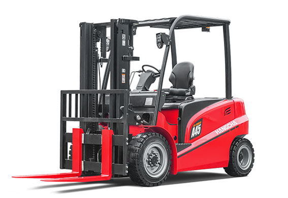 New Product Launch: 4.0~4.99t A Series 4-W Electric Forklift Truck