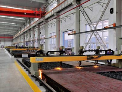 CNC-flame-cutting