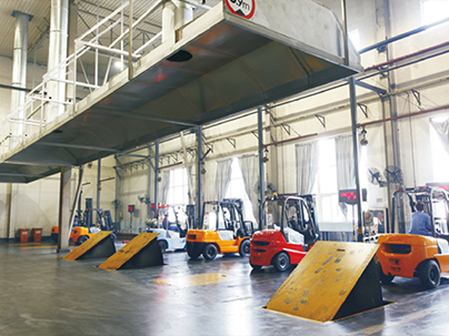 Forklift Automatic Testing Lines