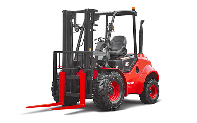 Two-Wheel Drive Rough Terrain 5,000-7,000lbs