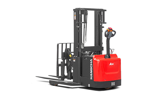 A Series Walkie Reach Stacker 3,000lbs