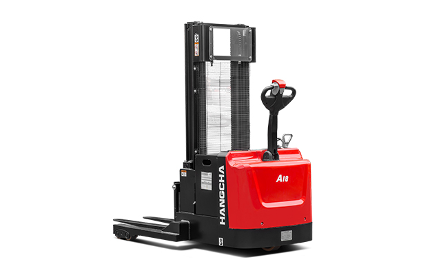 A Series Walkie Straddle Stacker 2,500-4,000lbs