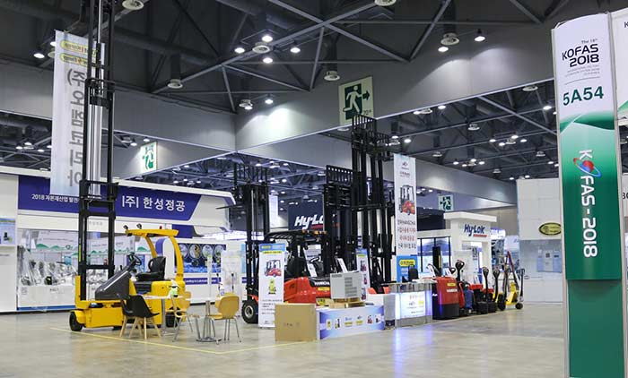 OM Attends The 2018 KOFAS Exhibition – HANGCHA Forklift